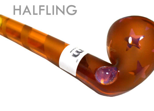 Ancient Amber Gandolf Pipe (size: Halfling)