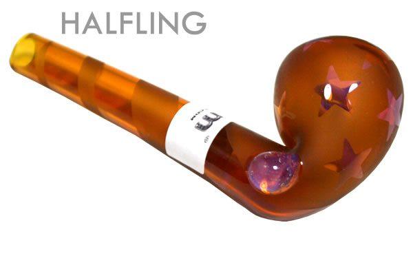 Ancient Amber Gandolf Pipe (size: Halfling)