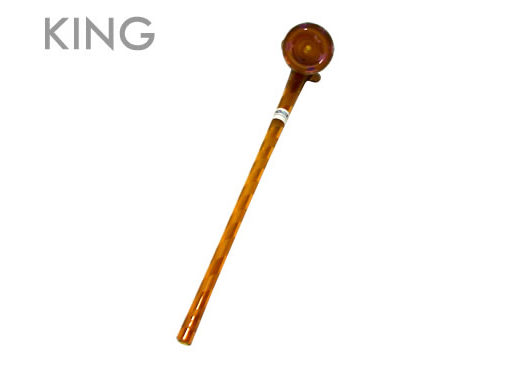 Ancient Amber Gandolf Pipe (size: King)