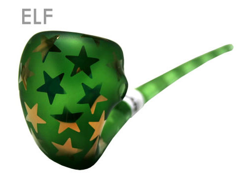 The Emerald Gandolf Pipe (size: Elf)