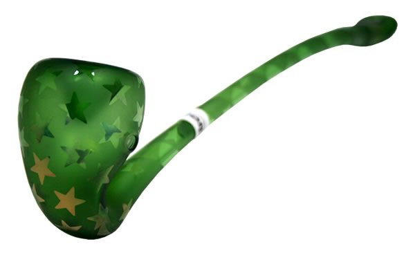 The Emerald Gandolf Pipe (High Wizard)