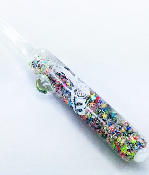 glow galaxy dabber 2 glass poker