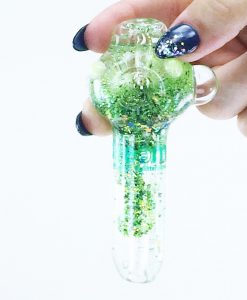 green galaxy pipe 2 small liquid pipes