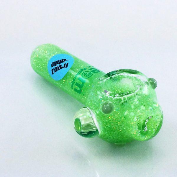 green glitter pipe 5 small liquid pipes