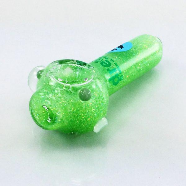 green glitter pipe 6 small liquid pipes