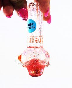 orange glitter pipe 1 small liquid pipes